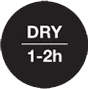 Dry Time 1h - 2h