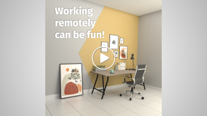 Working remotely can be fun cover image